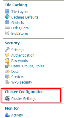 Installing the GeoServer Active Clustering Extension