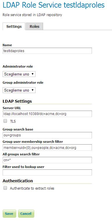 LDAP Authentication Provider — GeoServer Training